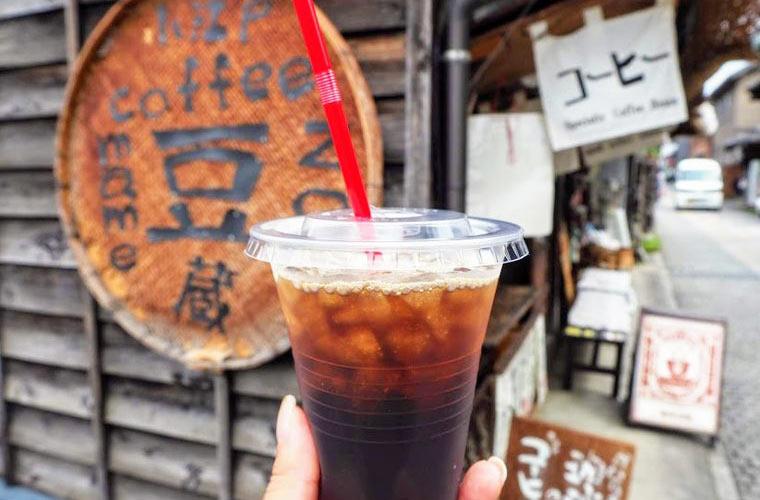 小江戸coffeemame蔵の「アイスコーヒー」