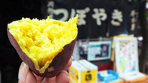小江戸・川越で楽しむ食べ歩きグルメ!名物や最新スイーツも