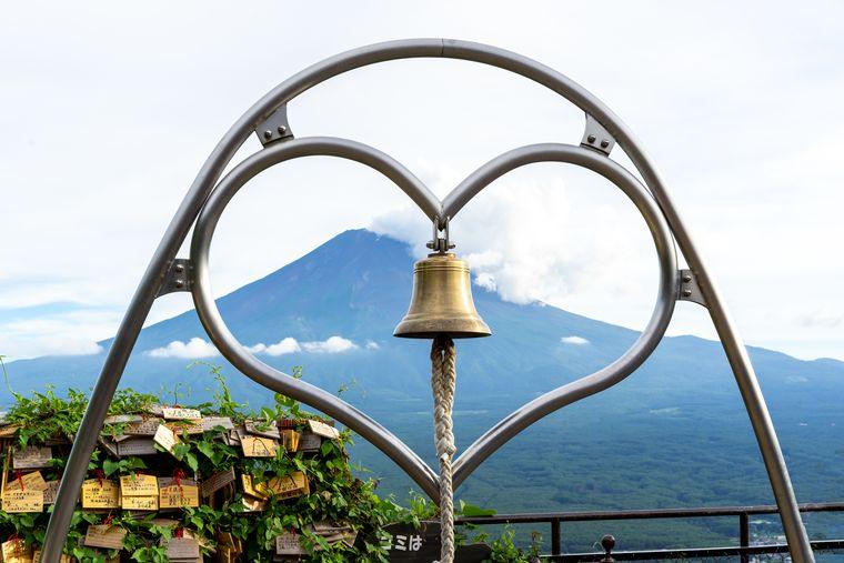 富士山パノラマロープウェイの天上の鐘