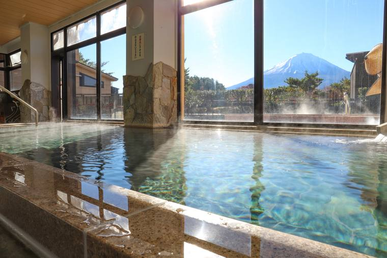 富士眺望の湯「ゆらり」の高見風呂