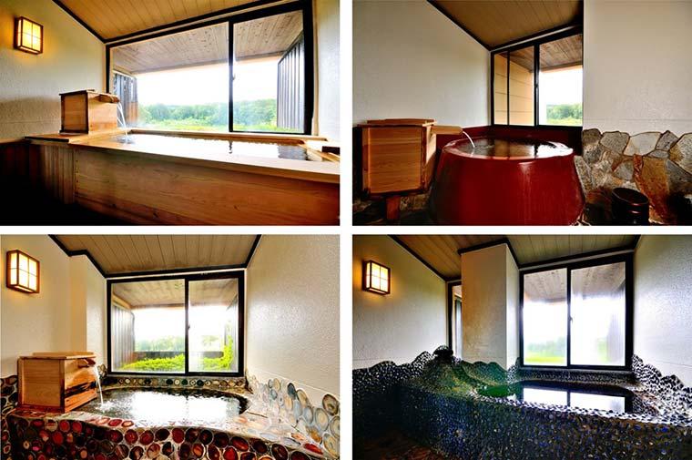 富士眺望の湯「ゆらり」の貸切風呂