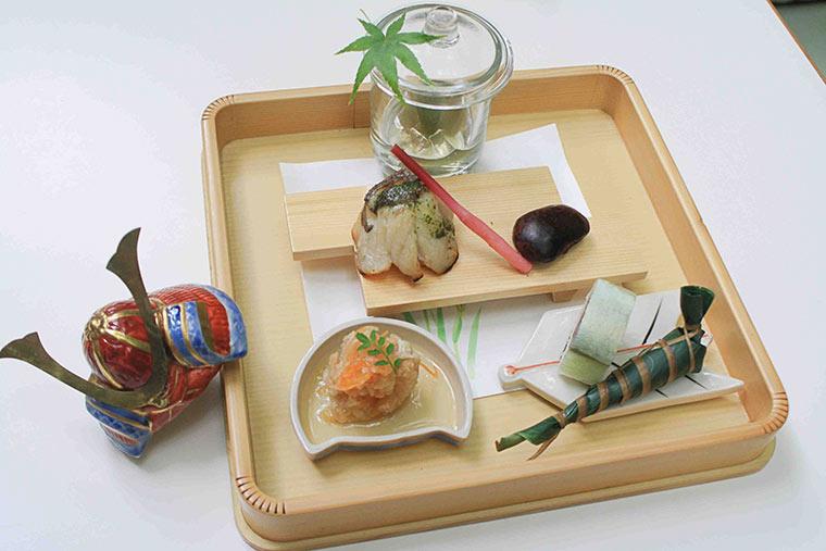 京貴船ひろやの鱸の塩麹焼き