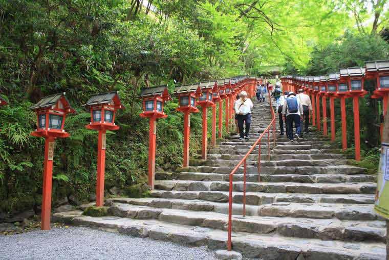 貴船神社の表参道
