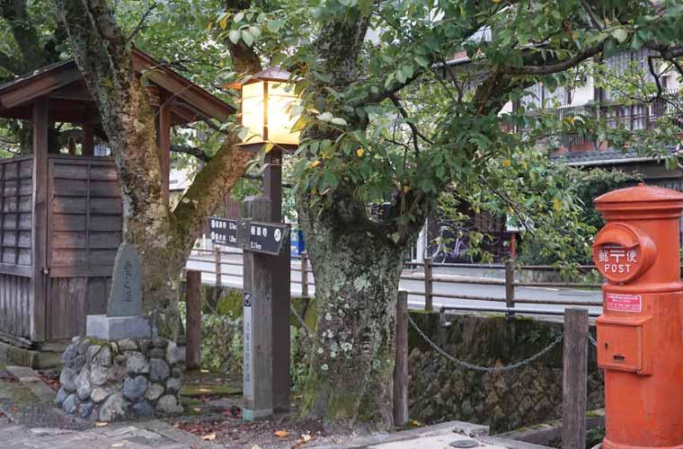 城崎温泉の街並み