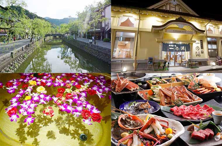 女子旅で味わいたい様々な楽しみがある城崎温泉