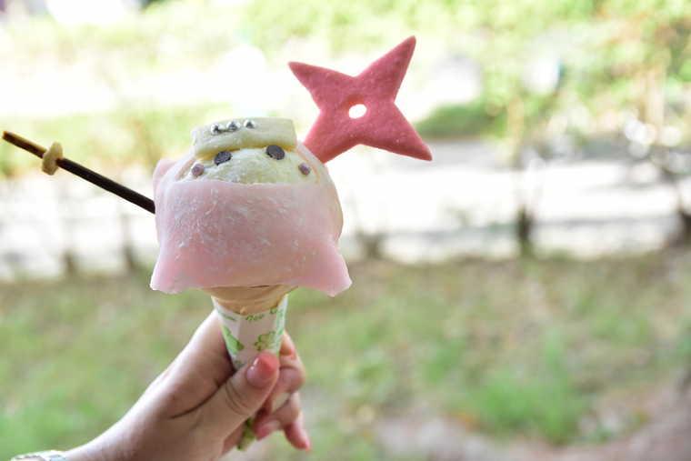 金シャチ横丁 CAFE DINER POP★OVERの忍者アイス