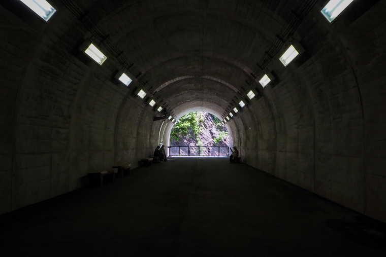清津峡渓谷トンネル 第一見晴所