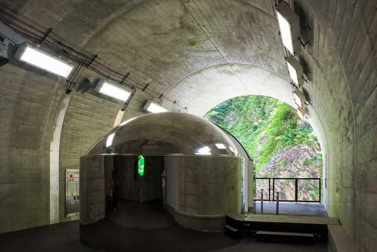 清津峡渓谷トンネル 第二見晴所