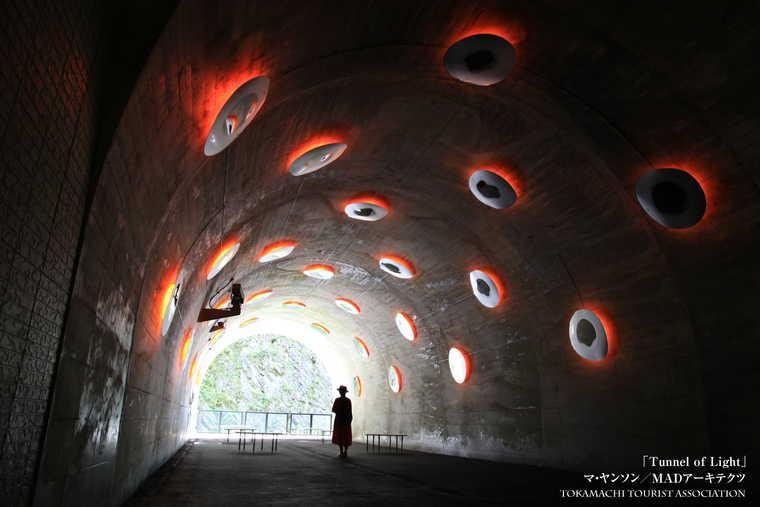 清津峡渓谷トンネル 第三見晴所