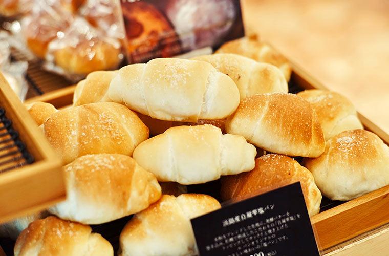 ル・パン神戸北野 本店で人気の淡路産自凝雫塩パン