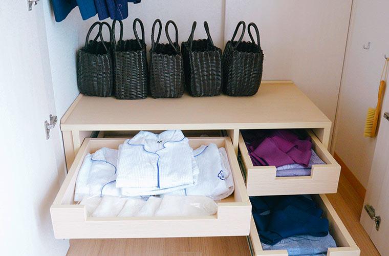 浴衣は館内着として施設内のどこにでも着ていける