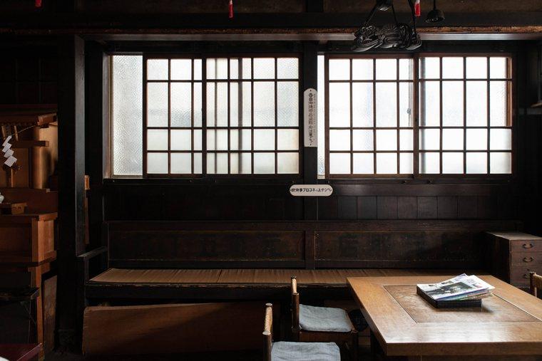 現在は静かな松尾稲荷神社