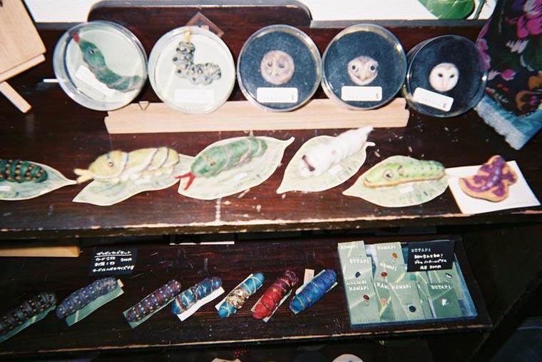 「くまばち 造形雑貨店」の雑貨を撮影