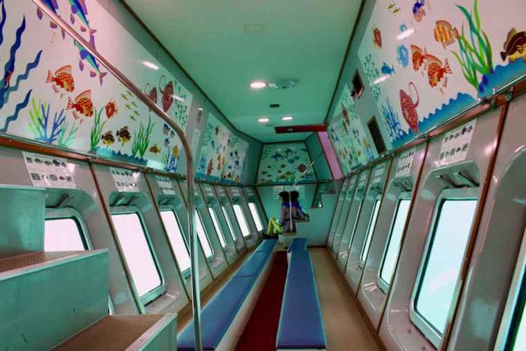 サンレモの海中展望室