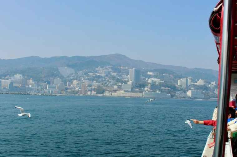 サンレモ号から観た風景