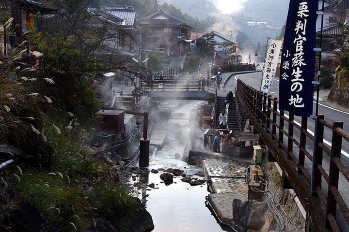 古くから熊野詣での人々が身を清めた「湯の峰温泉」 ©熊野本宮観光協会