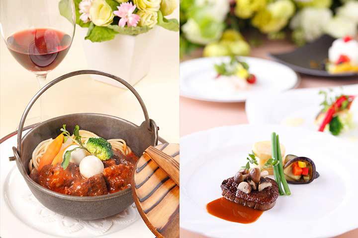 「ビーフシチュー奈良ホテル風」をはじめ名門ならではの贅沢な味わいが楽しめる
