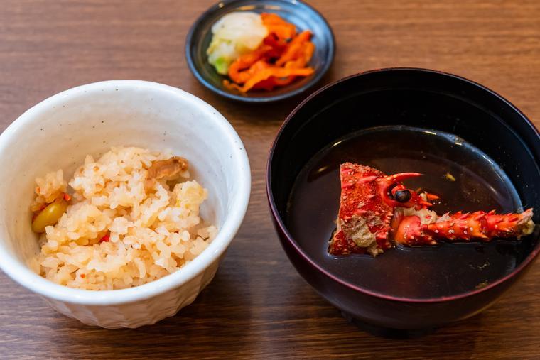 熊野古道 熊野倶楽部 晩御飯 旬の松茸ごはん