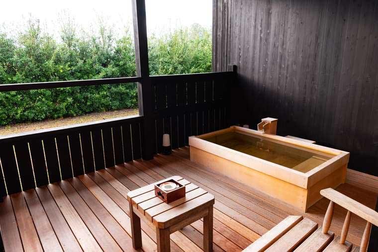 熊野古道 熊野倶楽部  露天風呂付き隠れ「満月庵(まんげつのいおり)」