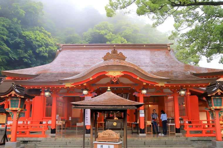 熊野那智大社の社殿