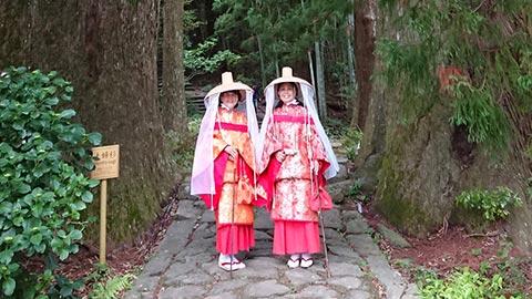 「熊野那智大社」で平安貴族に変身!古の参道を歩く旅