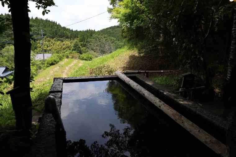 黒川温泉 旅館こうの湯 立ち湯