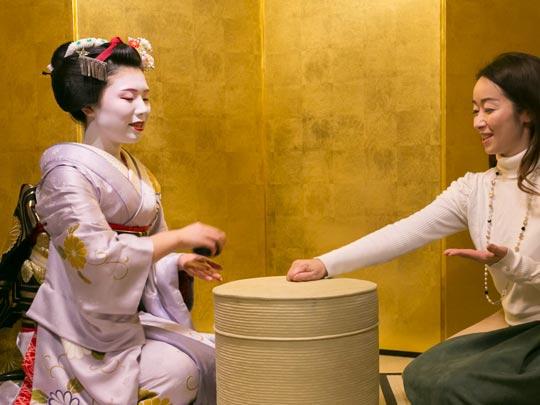 京都 お座敷遊び体験プラン
