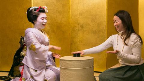 一見さんOK!舞妓さんとお座敷遊びができる、お手頃体験プラン