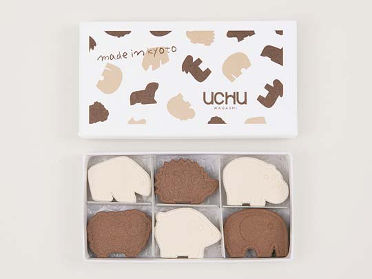 UCHU wagashi animal