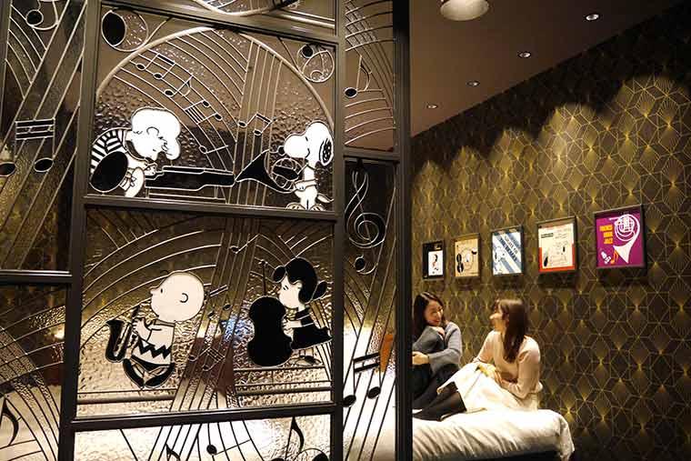 リーベルホテル アット ユニバーサル・スタジオ・ジャパン「ピーナッツ・ジャズ・ルーム」
