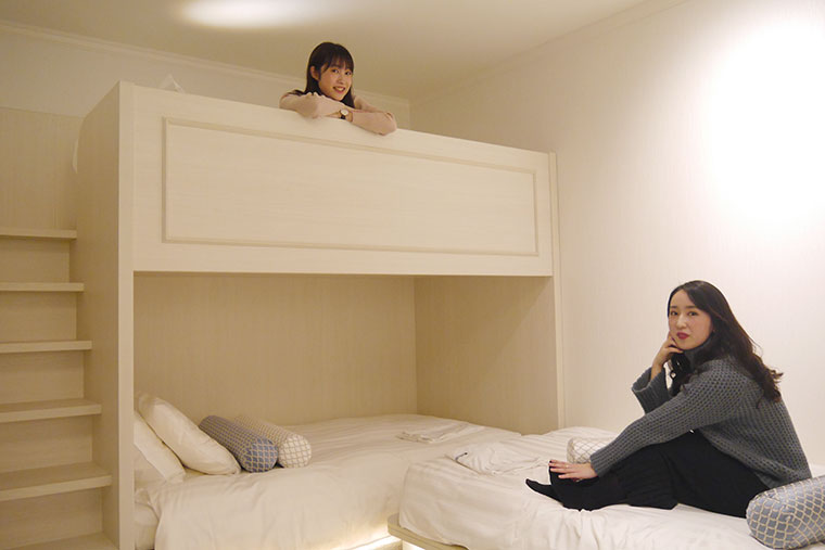 リーベルホテル アット ユニバーサル・スタジオ・ジャパン「スペーシャスルーム ブライト」