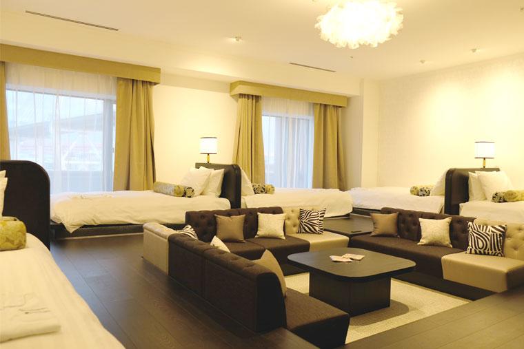 リーベルホテル アット ユニバーサル・スタジオ・ジャパン「スペーシャスルーム グランド」