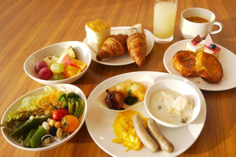 リーベルホテル アット ユニバーサル・スタジオ・ジャパン 「BRICKSIDE」朝食ブッフェ