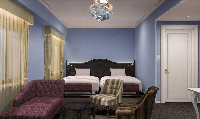 リーベルホテル アット ユニバーサル・スタジオ・ジャパン「ラグジュアリーフロア」