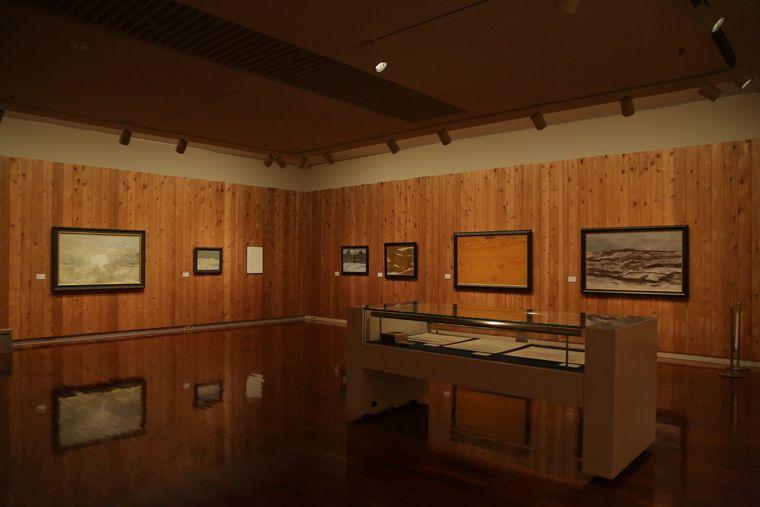 松本美術館の記念展示室
