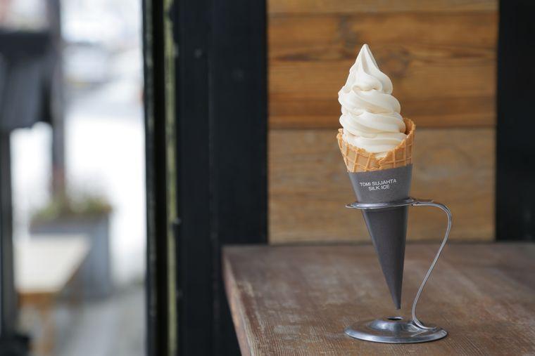Cafe SENRIのソフトクリーム