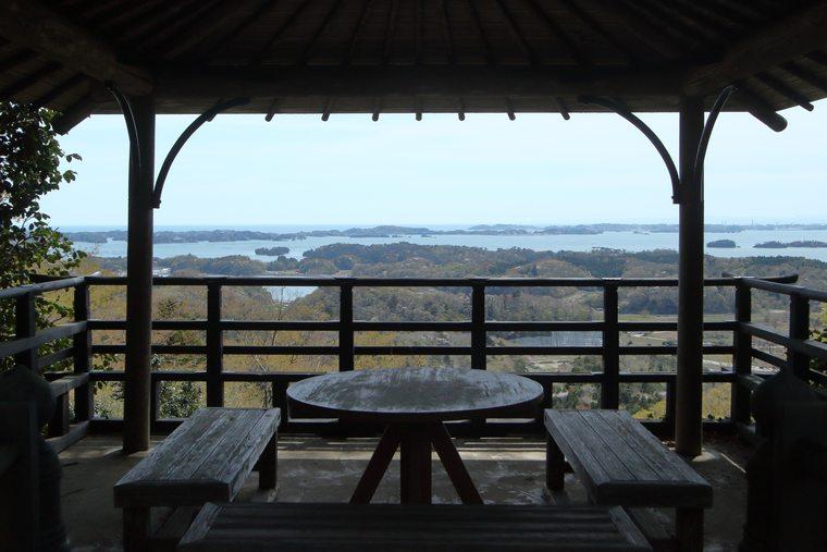 松島 富山展望台