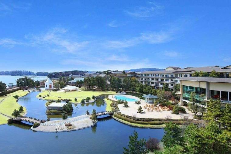 松島 絶景 温泉