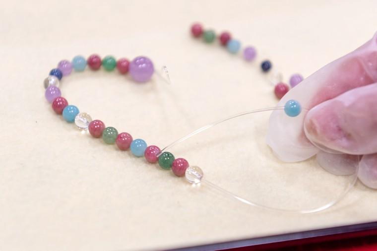 松島 「円通院」で数珠づくり体験