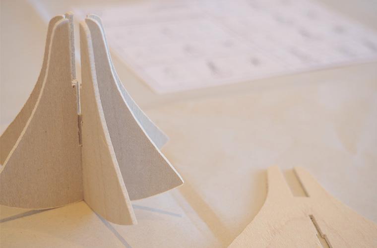 メッツァビレッジ Lovi社の組み立て細工の販売とワークショップ