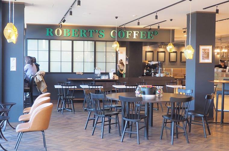 メッツァビレッジ ヴァイキングホール「ロバーツコーヒー」