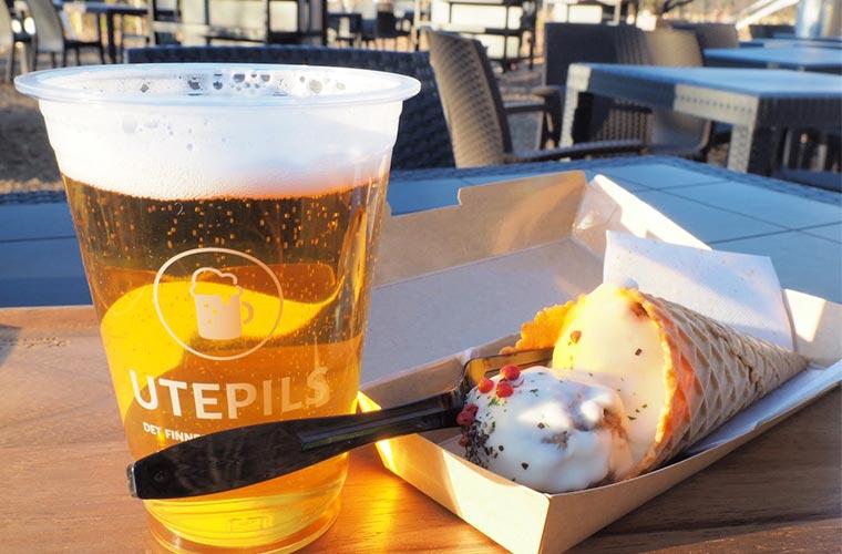メッツァビレッジ 屋外レストラン「UTEPILS」