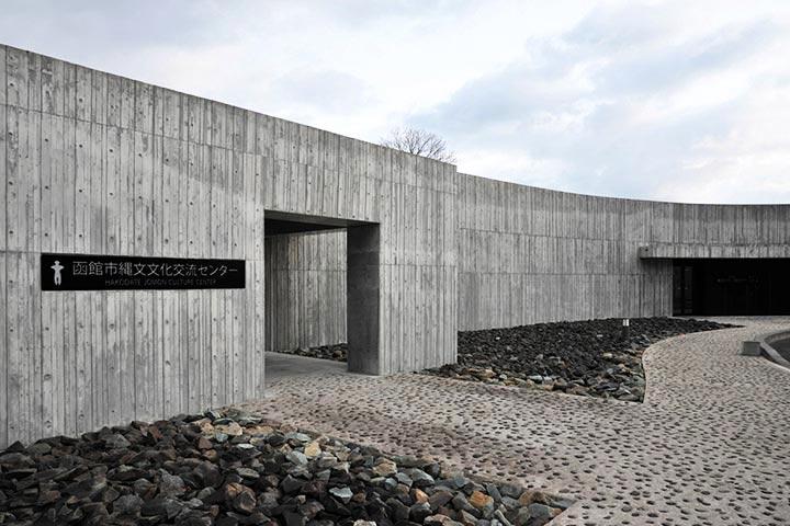 北海道函館市の道の駅「縄文ロマン 南かやべ」