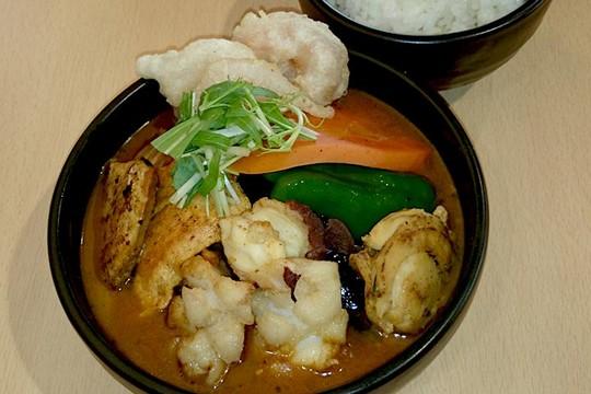 北海道 道の駅「サーモンパーク千歳」地元のレストランが出店し、フードも充実している