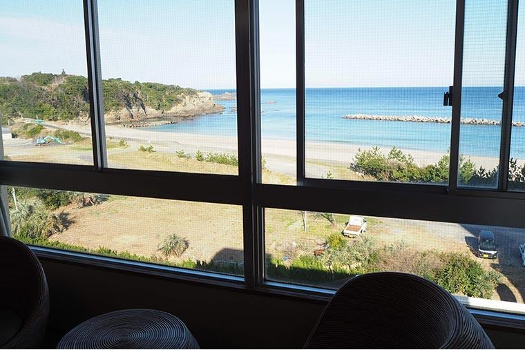 味の宿 みち潮 客室からの景色