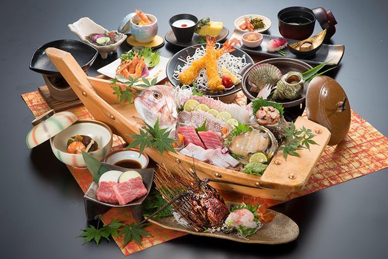 味の宿 みち潮 夕食
