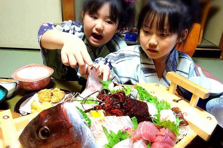 味の宿 みち潮 フォトコンテスト家族写真