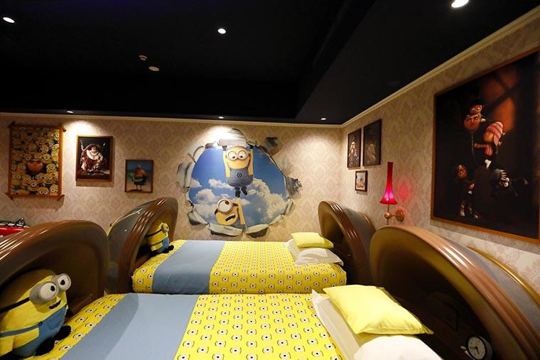 ホテルユニバーサルポート「ミニオンルーム」