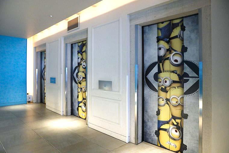 ホテルユニバーサルポート エレベーター