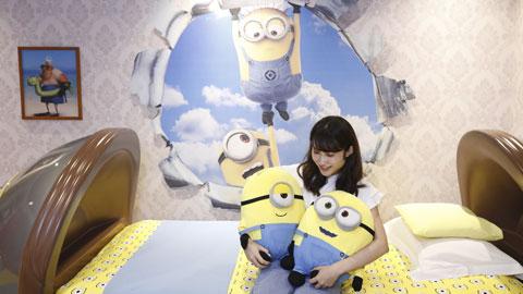 ユニバーサル・スタジオ・ジャパンへの女子旅に!かわいすぎるホテル ユニバーサル ポートの「ミニオンルーム」